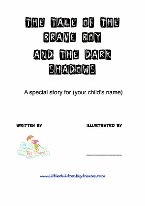 Personalize this story to help your child with their fear of the dark