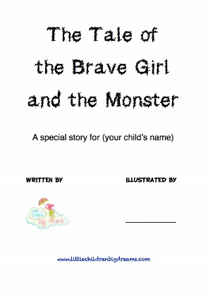 Personalize this story to help your child with their fear of monsters or monster dreams
